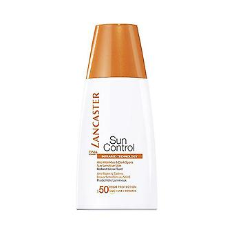 Lancaster Sun Control Sun Sensitive Radiant Glow Fluid for Face SPF50 30ml - High Protection