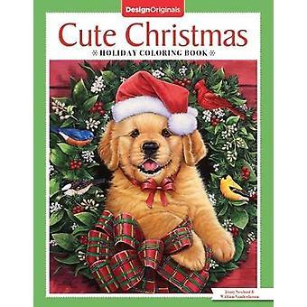 Cute Christmas Holiday Coloring Book par Jenny Newland - 9781497203754