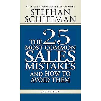 25 ventas más comunes errores (3ª edición revisada) por Stephan Schiff