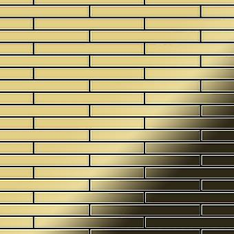 Kovová mozaika mosaz-BM