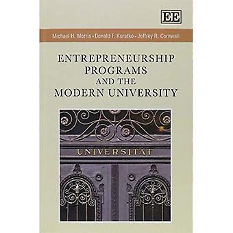 Entrepreneurship-Programme und die moderne Universität