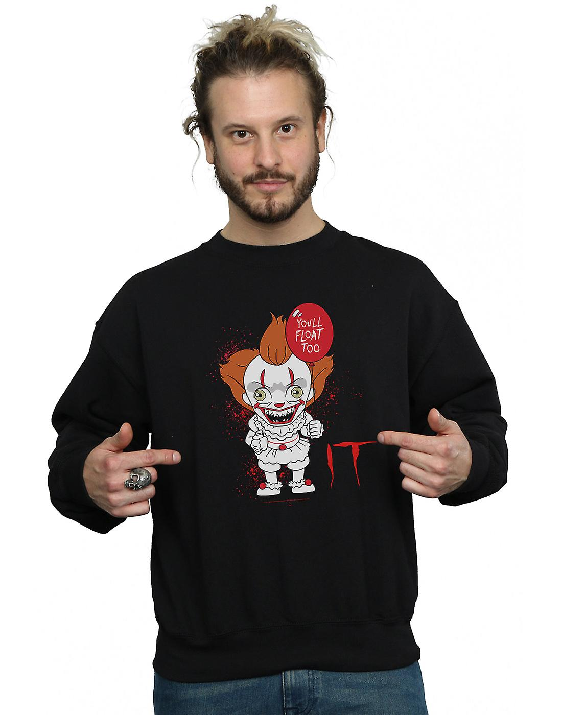 It Men's Chibi You'll Float Too Sweatshirt