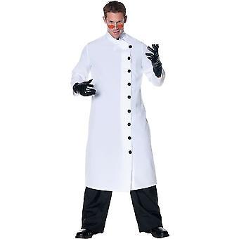 Hullu lääkäri aikuinen puku