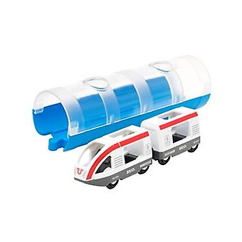 BRIO Travel Train & Tunnel 33890 for Wooden Railway Set