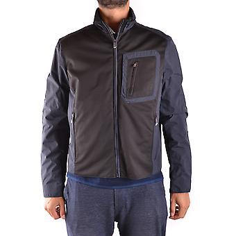 Paul & Shark Ezbc042023 Men's Blue Nylon Outerwear Jacket