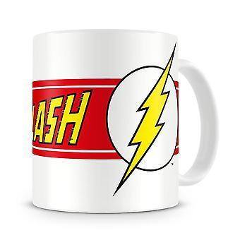 La tazza di caffè in ceramica con logo Flash