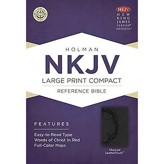 Large Print Compact Reference Bible-NKJV (large type edition) by Broa