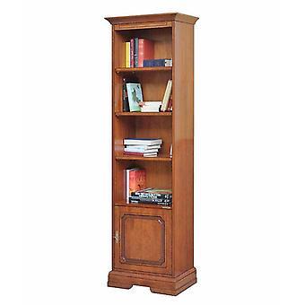 Platzsparendes Bücherregal mit Tür