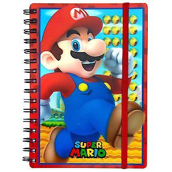 Super Mario 3D Lenticular A5 Wiro Notebook