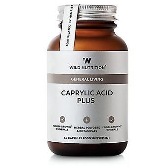 Wild Nutrition Caprylic Acid Plus Vegicaps 60