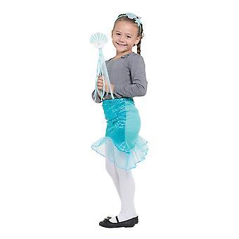 Bristol Novelty Childrens/Girls Mermaid Tutu Set