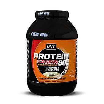 QNT Protein 80 Concentrated Calcium Caseinate Whey Muscle Powder - Vanilla