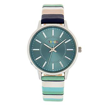 Crayo Swing Unisex Watch - Teal