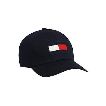 トミー ヒルフィガー ビッグ フラッグ 野球 帽 ネイビー