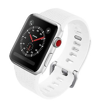 Silicon Strap 42 MM for Apple Watch White