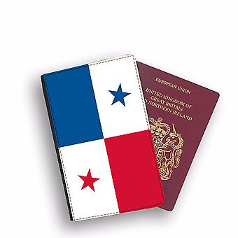 PANAMA Flag Passport Holder Style Case Cover Protective Wallet Flags design