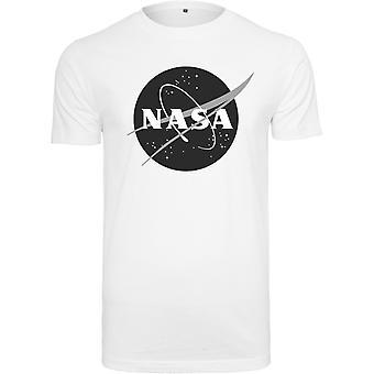 Mister tee shirt-NASA Insignia wit