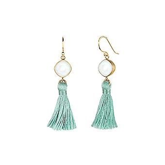 Elli Pendulum Earrings And Drop by Donna Vermeil