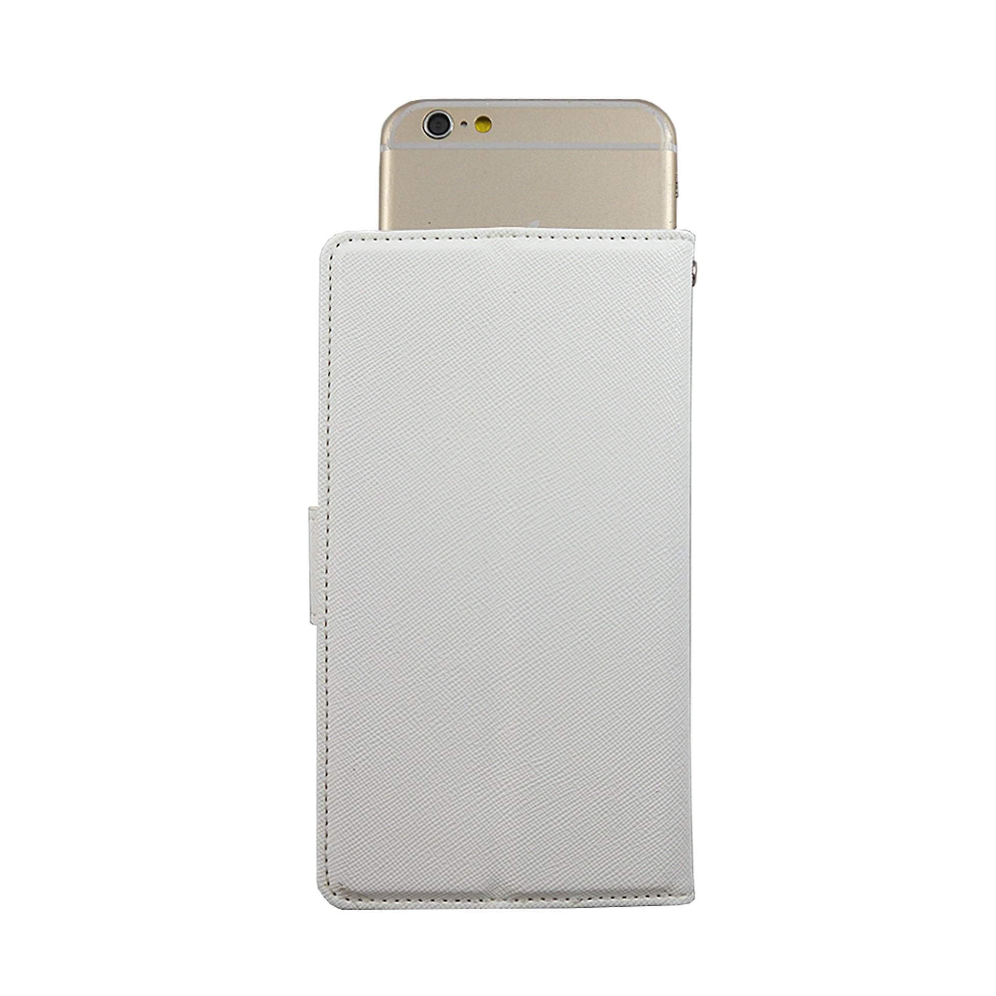Universal Gel Pad Slider Medium White