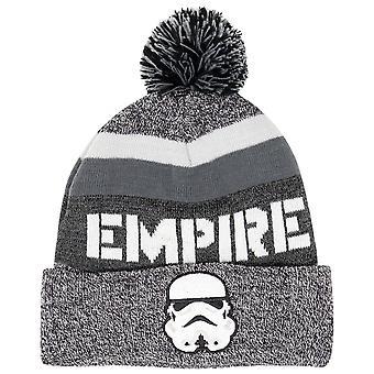 Star Wars Storm Trooper Empire Cuff Pom Beanie