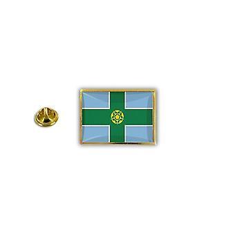 Pine PineS PIN rinta nappi PIN-apos; s metalli Broche Englanti lippu Englanti Yhdistynyt kuningas kunta Derbyshire