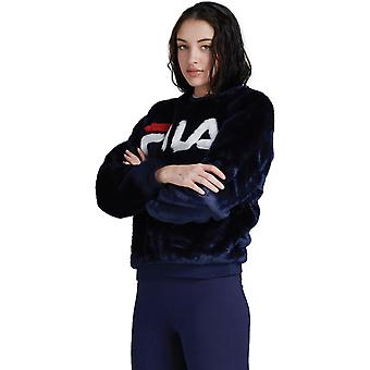フィラ エメリン ファー スウェットシャツ ブルー 12