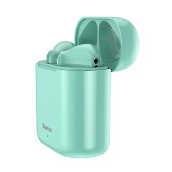 Baseus Encok W09 Wireless TWS True Touch Control Earphones Bluetooth 5.0 Wireless Pods Air Earphones Earbuds Green