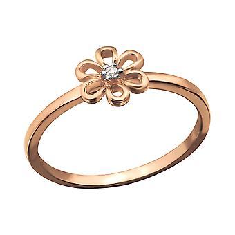 Floare - 925 Sterling Silver inele cu bijuterii - W22861x