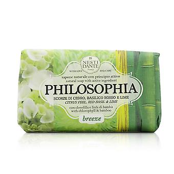 Philosophia Natural Soap - Breeze - Citrus Peel Red Basil & Lime With Chlorophyll & Bamboo - 250g/8.8oz