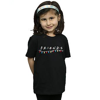 Friends Girls Christmas Lights T-Shirt