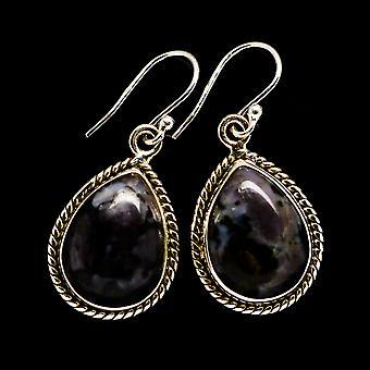 Gabbro Stone Earrings 1 3/8