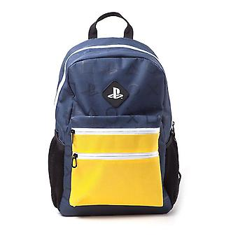 Sony Playstation Colour Block Backpack Unisex (BP226601SNY)