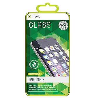 Film iPhone 8 / iPhone 7 Screen Protection Tempered Glass - Muvit