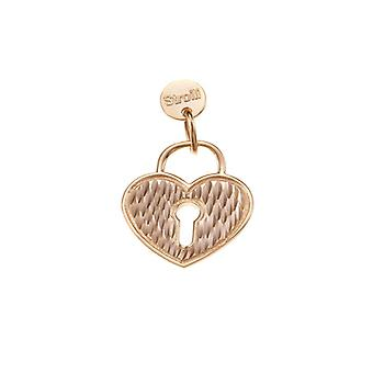 Stroili Love Beats Heart Padlock 1623296
