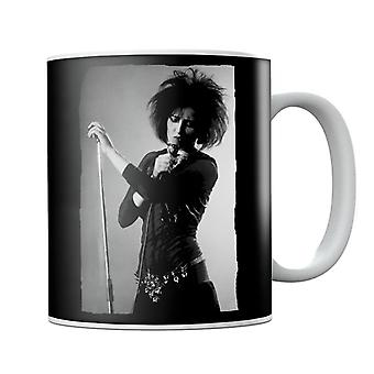 Souxsie Sioux Live Black And White Mug
