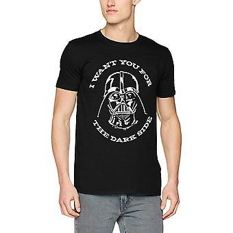 Star Wars voksne unisex voksne Sith Vader logo design T-shirt