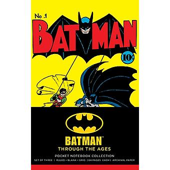 DC Comics Batman Through the Ages Pocket Notebook Collectio by InsightEditions
