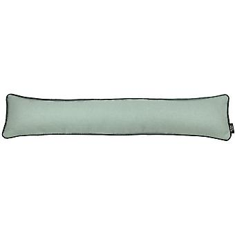 Mcalister textiles herringbone boutique duck egg blue draught excluder