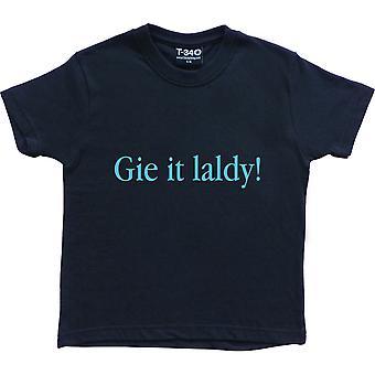 Gie Es Laldy Marine blau Kinder' T-Shirt