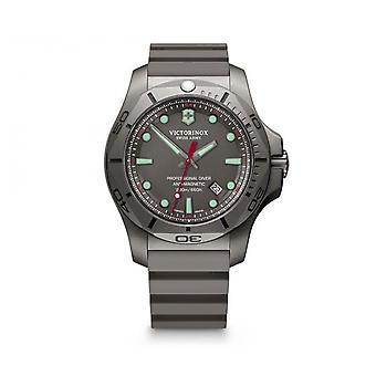Victorinox Watch 241810 - I.N.O.X. Professional Diver Titanium/ titanium grey box/ grey rubber bracelet Men