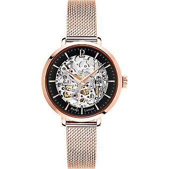 Pierre Lannier B 313, 938 - watch automatic steel gold Rose wife