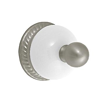 Delta 69435-SN SN SN Nickel Wall Mount Bathroom Robe Towel Hook