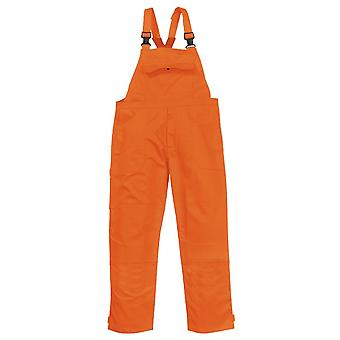 Portwest bizweld workwear safety bib and brace biz4