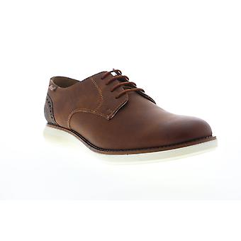 G.H. Bass Randell Wx  Mens Brown Leather Casual Lace Up Oxfords Shoes