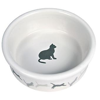 Trixie Eat. Ceramic for Cats (Cats , Bowls, Dispensers & Containers , Bowls)
