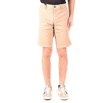 Moncler Ezbc014105 Women's Beige Cotton Shorts