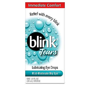Blink tears lubricating eye drops, mild-moderate, dry eye, 30 ml