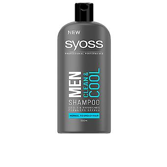 Syoss Men Champú Clean & Cool 500 Ml For Men