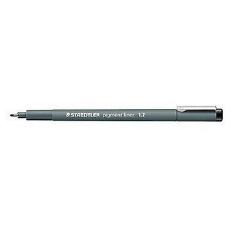 Staedtler pigment liner fineliner 1,2 mm black 308 12-9
