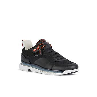 Geox Mens U Levita A Lace Up Trainer